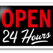 Be Open 24/7
